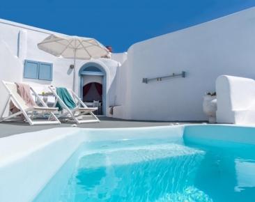 Великден на остров Санторини, Гърция